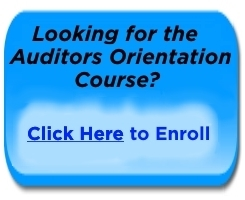 Auditors Orientation Course